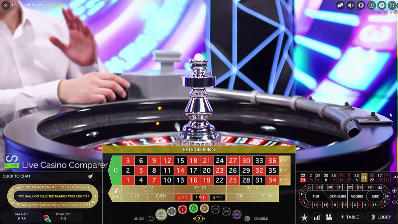 One roulette – 3 games